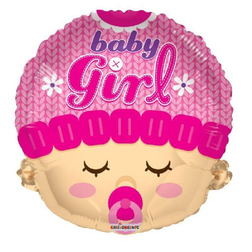 Baby Girl Head Shape (18inch)